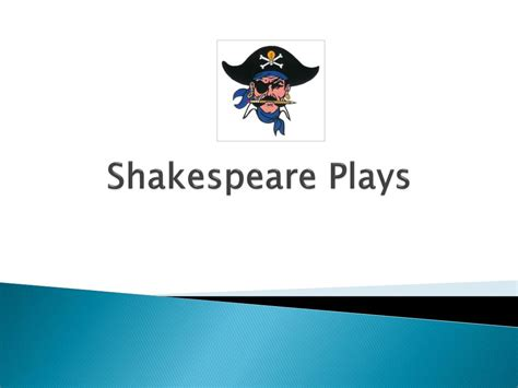PPT - Shakespeare Plays PowerPoint Presentation, free