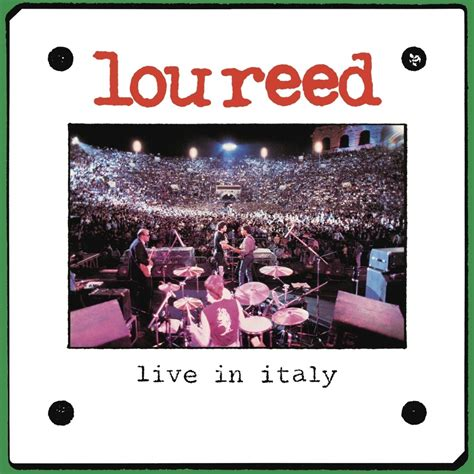 Reed Lou | 2 LP Live In Italy / Vinyl / 2LP | Musicrecords