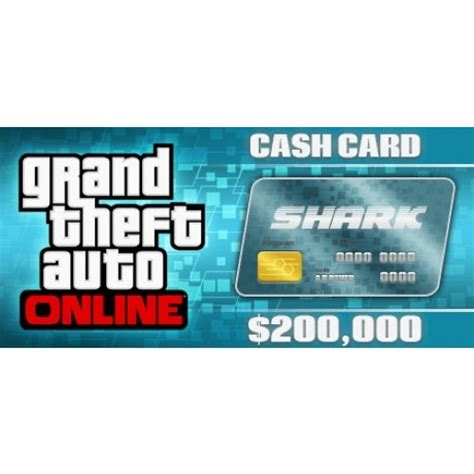 GTA 5 Online Tiger Shark Cash Card 200,000$ | PC Rockstar