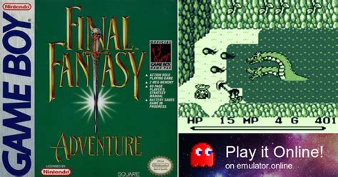 Play Final Fantasy Adventure on Game Boy