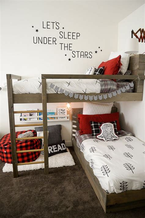 30 Awesome Shared Boys' Room Designs To Try - DigsDigs