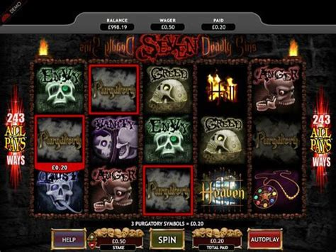 Seven Deadly Sins : Free Slot Machine Game With No Download