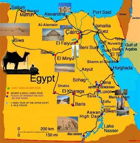 Great collection of MAPS! | Egypt map, Egypt tourism, Egypt