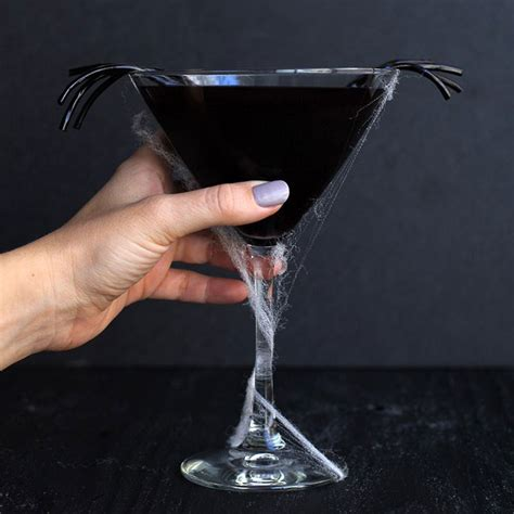 Black Halloween Cocktails That Are Scary Delicious | Food
