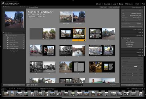 Creating a book in Adobe Lightroom - MyPhotoCentral