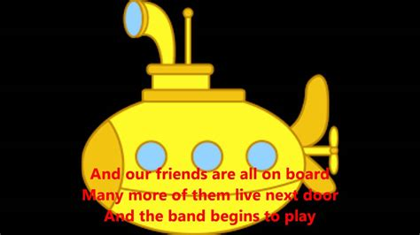 Yellow Submarine by The Beatles (cover) with lyrics - YouTube
