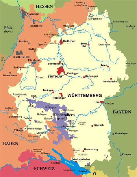 Wuppertal Germany Map