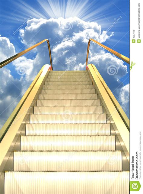 Road to heaven stock image