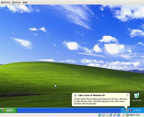 Creating a Windows XP guest in VirtualBox for Linux