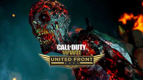 Call of Duty WW2: United Front Zombies DLC - Live Gameplay