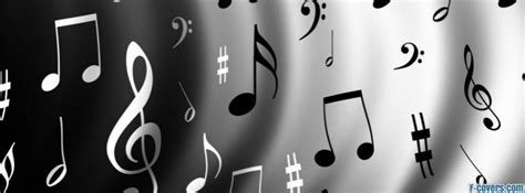 music notes Facebook Cover timeline photo banner for fb