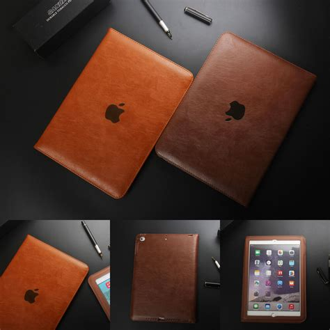 Luxury Slim Leather Tablet Folio Case Cover For iPad 2/3/4