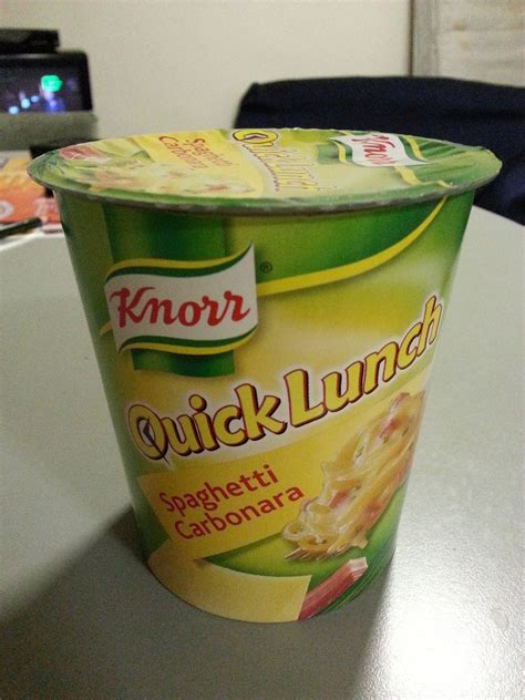 Instant Noodle around the World 15 - Knorr Quick Lunch
