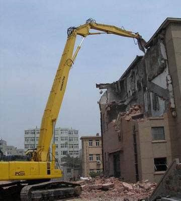 High reach demolition-how we approach this type of work