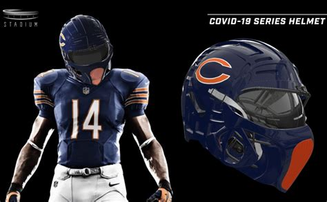 Is that what an NFL COVID-19 helmet could look like?