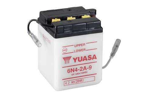 6N4-2A-9 - Conventional 6 Volt - Motorcycle & Power Sport