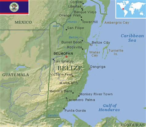 Belize - World Atlas - Find Fun Facts