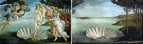 Spanish Artist Reinvents Classic Paintings By Removing The