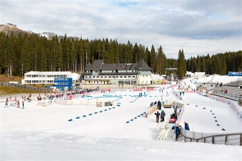 Biathletes are preparing for the races - Biathlon Pokljuka