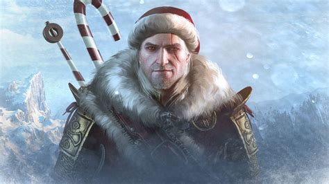 Make a Witcher 3 holiday outfit mod, win a real-life sword