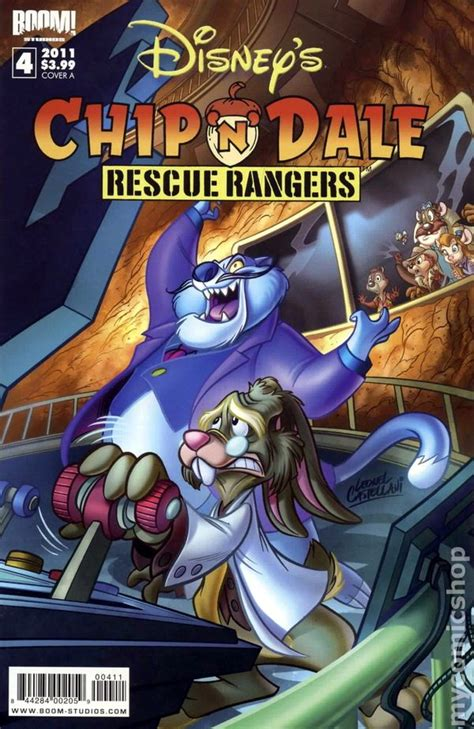 Chip n Dale Rescue Rangers (2010 Boom Studios) comic books