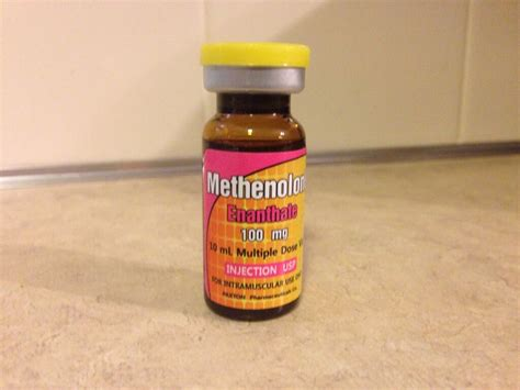 Paxton Pharmaceuticals Methenolone Enanthate Lab Test