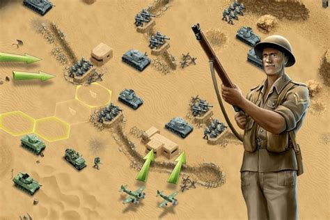 1943 Deadly Desert   WW2 Strategy Game   HandyGames