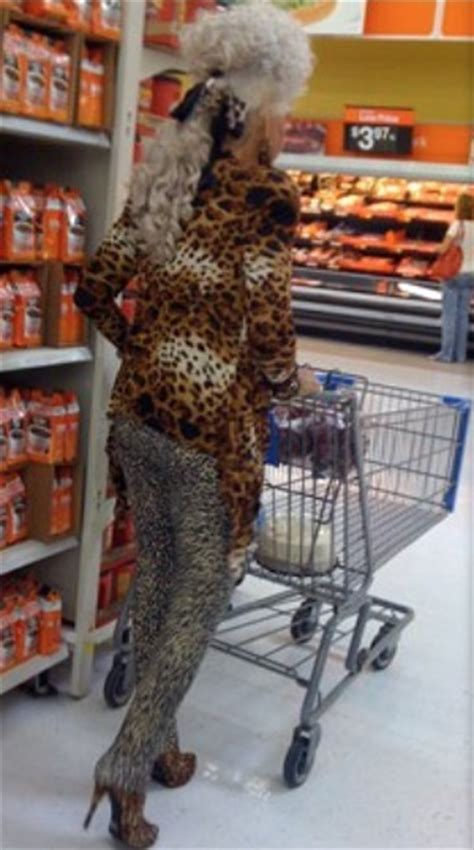 Cougar on the Prowl at Walmart - Granny Goes Shopping in