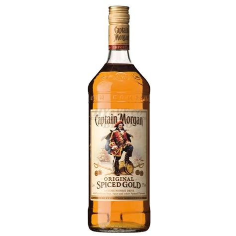 Captain Morgan Spiced 1l 35% - HYVEco