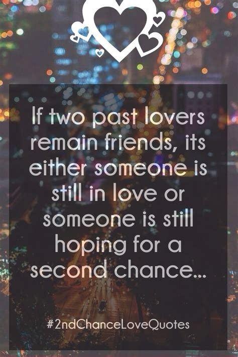 Second Chance Love Quotes - List of Best 2nd Chance