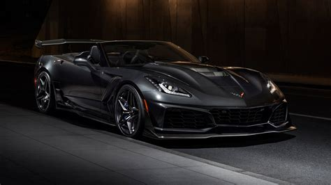 2019 Chevrolet Corvette ZR1 Convertible Wallpaper | HD Car