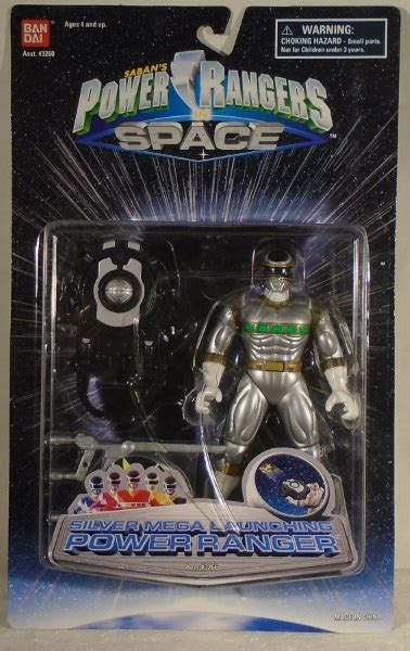 """""""OUT OF STOCK"""" Power Rangers In Space - Mega Launching"""